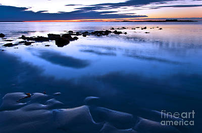 Photograph - Wells Beach Maine Sunrise 2 by Glenn Gordon