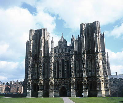 Photograph - Wells Cathedral by Christopher Rees