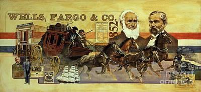 Spirit Of Wells Fargo Heritage Art Print
