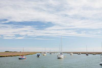 Wells-next-the-sea In North Norfolk Art Print by Ashley Cooper