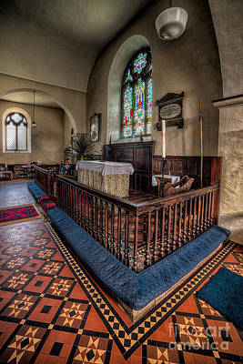 Altar Art Photograph - Welsh Chapel by Adrian Evans