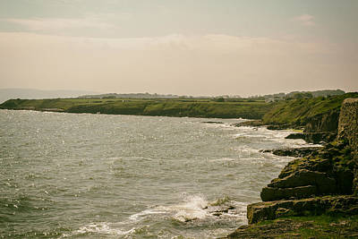 Porth Wen Photograph - Welsh Coast By Moelfre by Georgia Fowler