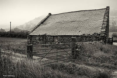 Photograph - Welsh Farm Building by Fran Gallogly