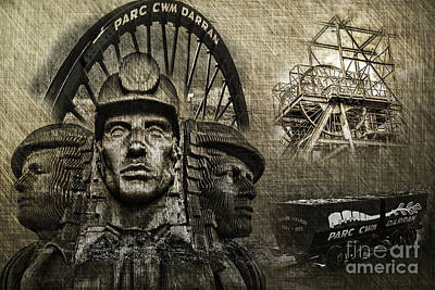 Photograph - Welsh Mining Heritage by Steve Purnell