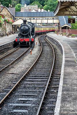 Welsh Railway Art Print by Adrian Evans