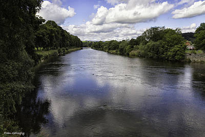 Photograph - Welsh River Scene by Fran Gallogly