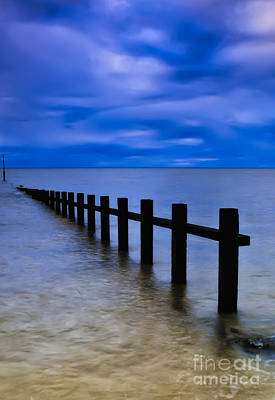 North Sea Wall Art - Photograph - Welsh Seascape by Adrian Evans