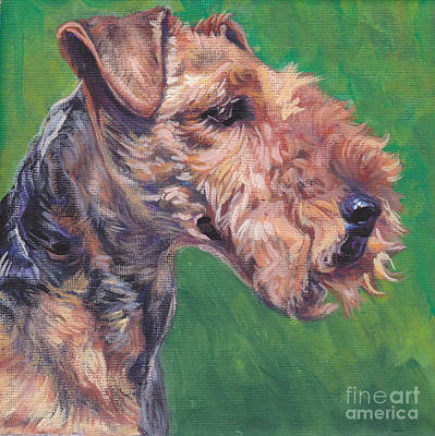 Painting - Welsh Terrier by Lee Ann Shepard