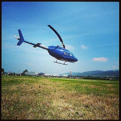 Helicopter Photograph - #welshpool #airshow #helicopter #now by Alexandra Cook