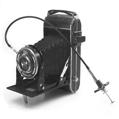 Photograph - Welta Garant Folding Camera Late 1930s by Paul Cowan