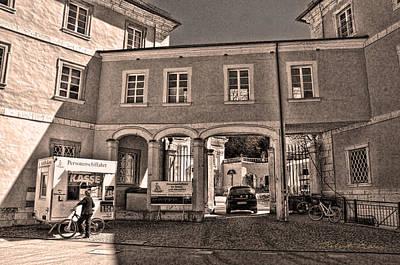 Photograph - Weltenburg Abbey Courtyard.  by Robert Culver