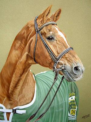 Equine Pastels Painting - Weltmeyer by Katja Sauer