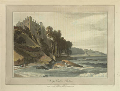 Wemys Castle In Fifeshire Art Print by British Library