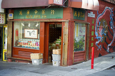 Photograph - Wen Hua Co. China Town No. 1 by Christopher Winkler
