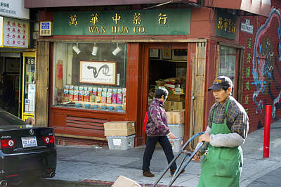 Photograph - Wen Hua Co. China Town No. 2 by Christopher Winkler