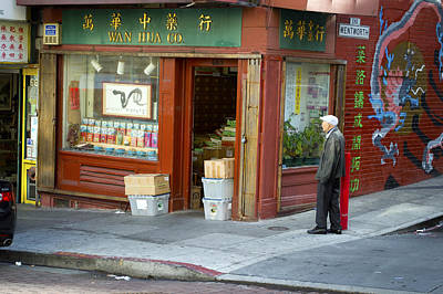Photograph - Wen Hua Co. China Town No. 3 by Christopher Winkler