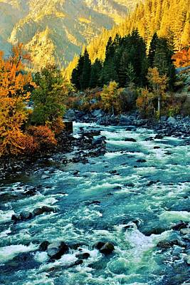 Photograph - Wenatchee Autumn by Benjamin Yeager