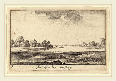 Toll House Drawing - Wenceslaus Hollar Bohemian, 1607-1677, Strasbourg The Toll by Litz Collection