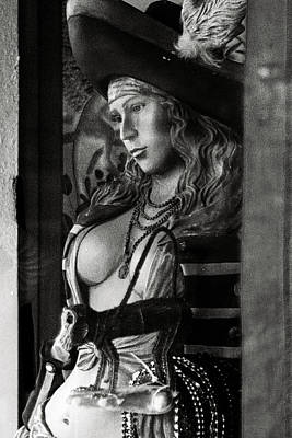 Pirate Wench Photograph - Wench Of Ybor by Bodacious Betty