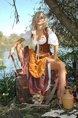 Pirate Wench Photograph - Wenches Revenge 162 by Liezel Rubin