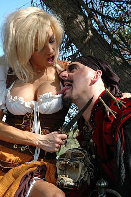 Pirate Wench Photograph - Wenches Revenge 176 by Liezel Rubin