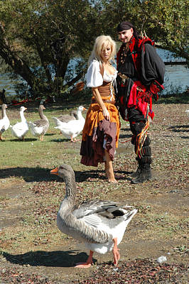 Pirate Wench Photograph - Wenches Revenge 209 by Liezel Rubin