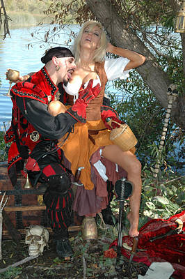 Pirate Wench Photograph - Wenches Revenge 241 by Liezel Rubin