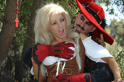Pirate Wench Photograph - Wenches Revenge 37 by Liezel Rubin