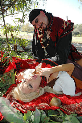 Pirate Wench Photograph - Wenches Revenge 76 by Liezel Rubin