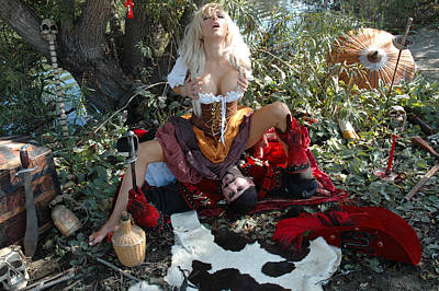 Pirate Wench Photograph - Wenches Revenge 85 by Liezel Rubin
