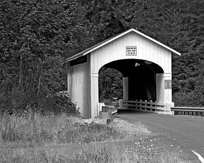 Photograph - Wendling Covered Bridge by Chris Anderson