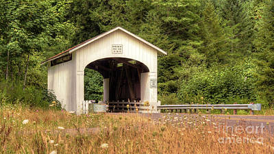 Photograph - Wendling Oregon Covered Bridge by Chris Anderson