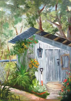 Painting - Wendy's Shed by Barbara Haviland