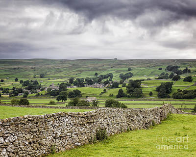 Photograph - Wensleydale North Yorkshire England by Colin and Linda McKie