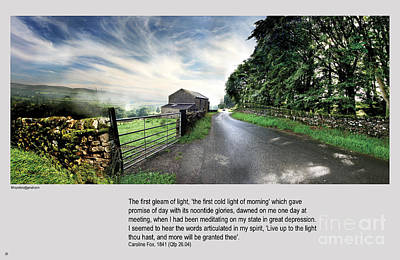 Wensleydale Road Print by Mike Hoyle