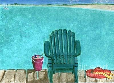 Painting - Went For A Swim by Denise Railey