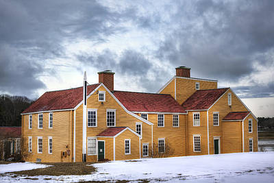 New Hampshire Tours Photograph - Wentworth Coolidge Mansion by Eric Gendron