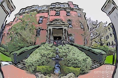 Digital Art - Wentworth Residence by Dale Powell