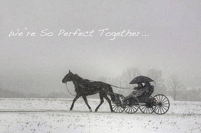 Photograph - We're So Perfect Together . . . by Gene Walls