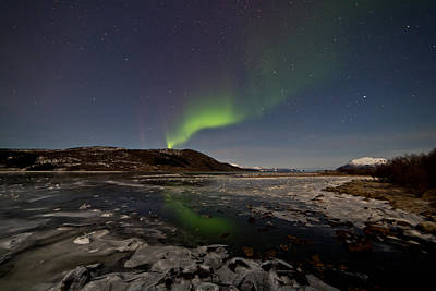 Norway Photograph - Were The River Runs Into The Sea by Frank Olsen