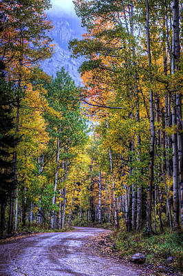 Photograph - Were The Road Leads by Ken Smith