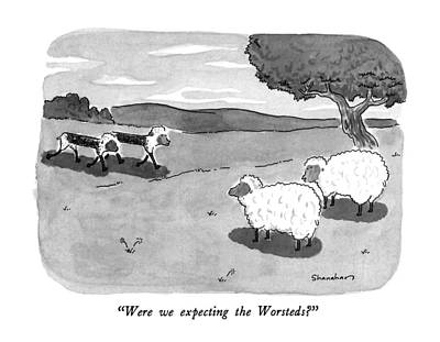 Were We Expecting The Worsteds? Art Print by Danny Shanahan
