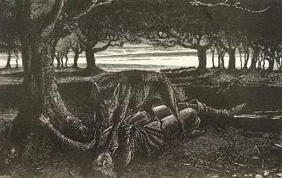 Werewolf Art Print by British Library