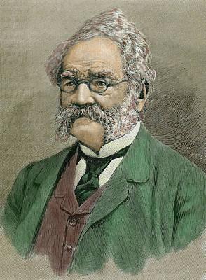 Nineteenth Century Photograph - Werner Von Siemens (lenthe by Prisma Archivo