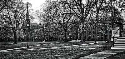 Photograph - Wesleyan University Campus by Phil Cardamone