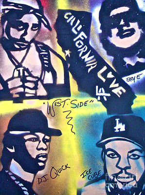 First Amendment Painting - Wessiders by Tony B Conscious