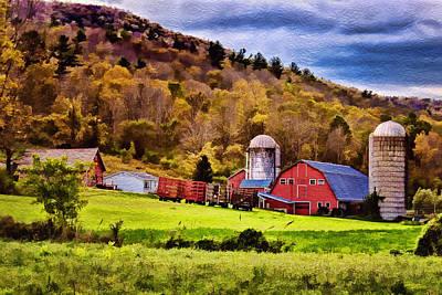 West Arlington Photograph - West Arlington Farm by Priscilla Burgers