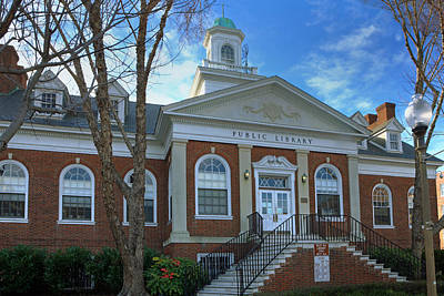 Photograph - West Avenue Library by Jerry Gammon