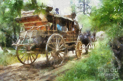 West Away Art Print by Barbara R MacPhail
