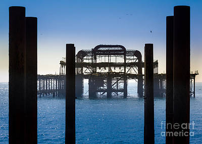 Photograph - West Brighton Pier by Peta Thames